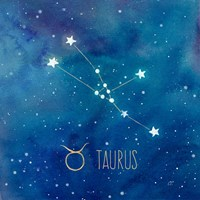 Star Sign Taurus Fine Art Print