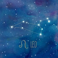 Star Sign Leo Fine Art Print