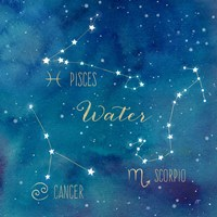 Star Sign Water Fine Art Print