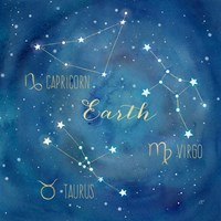 Star Sign Earth Fine Art Print