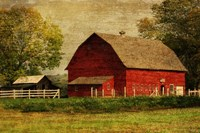 Red Barn Fine Art Print
