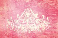 Pink Chandelier Fine Art Print
