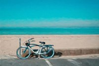 Bike to the Beach Fine Art Print