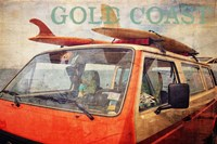 Gold Coast Surf Bus Fine Art Print