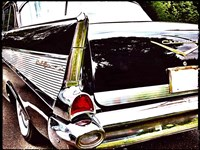Chevy Tail Fin Fine Art Print