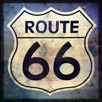 Route 66 Sign Fine Art Print