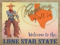 Lone Star State Fine Art Print