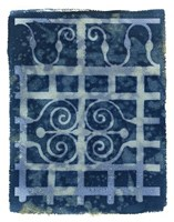 Wrought Iron Cyanotype III Fine Art Print