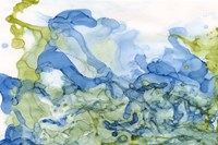 Ocean Influence Blue/Green Fine Art Print