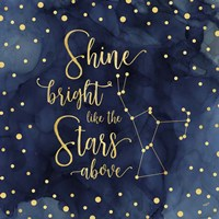 Oh My Stars III Shine Bright Fine Art Print