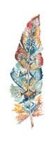 Tribal Feather Single IV Framed Print