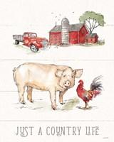 Country Life II Fine Art Print
