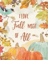 Falling for Fall V Fine Art Print