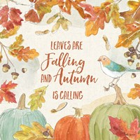Falling for Fall IV Fine Art Print