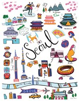Travel Seoul Fine Art Print