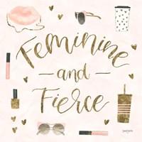 Boss Ladies VI Pink Fine Art Print