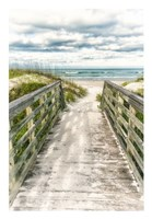 Seaside Entry Fine Art Print
