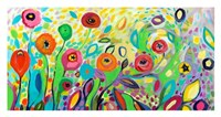 Flower Garden Jazz Fine Art Print