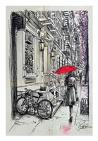 Afternoon Walk Fine Art Print