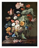 Rachel Ruysch, Still-Life with Flowers Fine Art Print