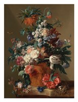 Jan van Huysum, Vase of Flowers Fine Art Print