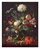Jan Davidsz de Heem, Vase of Flowers Fine Art Print