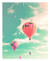 Colorful Hot Air Balloons Fine Art Print