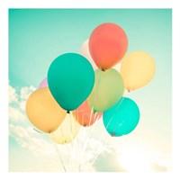 Colorful Balloons Fine Art Print