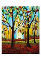 Tree Color Change Fine Art Print