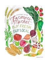 Farmer's Market Fine Art Print