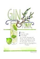 Gin & Tonic Fine Art Print