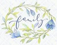 Family Wreath Fine Art Print