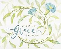 Grow In Grace Fine Art Print