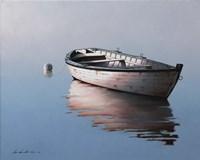 Lonely Boat 2017 Fine Art Print
