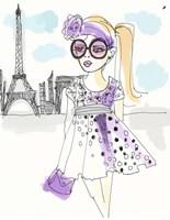 Born In Paris Fine Art Print