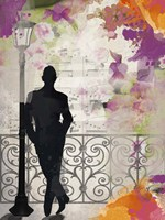 Waiting In Paris Fine Art Print