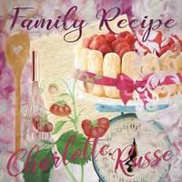 Family Recipe Charlotte Russe Fine Art Print