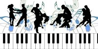 Keyboard Dance Fine Art Print