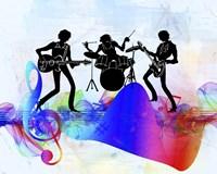 Rock Band Fine Art Print