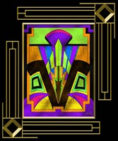 Art Deco Design 5B Fine Art Print