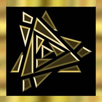 Black And Gold 9 Fine Art Print