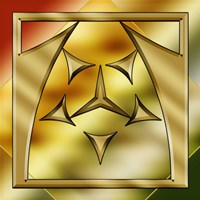 Brass Design 2 Fine Art Print