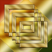 Brass Design 4 Fine Art Print