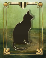 Deco Cat 1 Fine Art Print