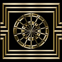 Gold Deco 8 Fine Art Print