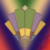 Art Deco Fan 2 Fine Art Print