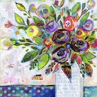Love Letter Vase Fine Art Print