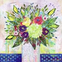 Love Letter Vase 2 Fine Art Print