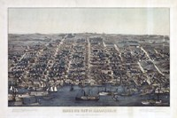 Alexandria Va Forts Built To Defend Washington - Civil War 1863 Fine Art Print