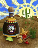 Tequila Sunrise Fine Art Print